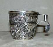 Silberbecher, 925er Silber, Minoan Art, Vaphio Cup, Handmade in Greece, € 350,00