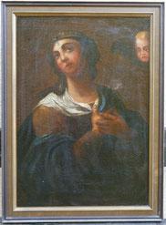 Italienische Heiligendarstellung, 17./18. Jahrhundert, Madonna, Maria, Engel , € 980,00