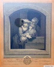 Kupferstich,C.W.E. Dietricy, Graveur J. G. Wille, REPOS DE LA VIERGE, € 250,00