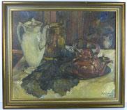 Impressionistisches Stillleben, Eifelmaler, Heinrich Füllbeck, 1960 , € 350,00