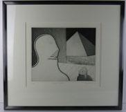 Niels Unbehagen, 1940, Grafik 63/65, Sphinx, Abstrakt , € 220,00