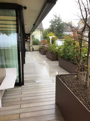 Terrassenboden Accoya vorvergraut  Spiegel b. Bern