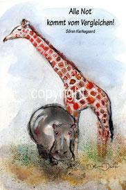 Nilpferd und Giraffe