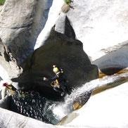 Canyoning Lechtal Tirol