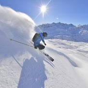 Freeriden Arlberg Bergführer Skiführer