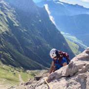 Bergsteigen Lechtal