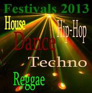 evenements festivals de dance 2013