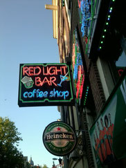 Coffee Shop Red Light Bar Amsterdam