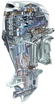 Руководство по ремонту лодочного мотора Honda