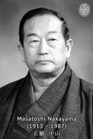 Karate Erlach, Dôjôkun, Masatoshi Nakayama