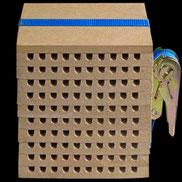 Insektennisthilfe Insektenhotel Nisthilfe Brettchen Nutbrettchen zerlegbar