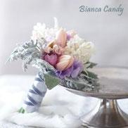 スモーキーパステルのお花で春を先取り♪