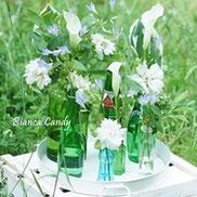 空き瓶をおしゃれに活用♪初夏の花活けのコツ