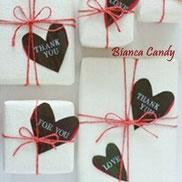 バレンタインに♡葉っぱのメッセージカード