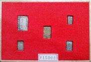 分金朱銀5枚セット  ¥15,000-
