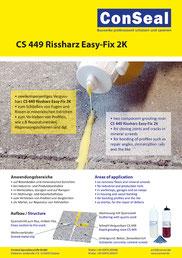 ConSeal Prospekt CS 580 Flex-Dichtband