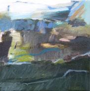 11.9.15 2015 30 x 30 cm Öl / Leinwand