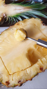 Bild: Rezept Ananas-Dessert