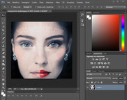 digital make up Photoshop fotoritocco online professionale