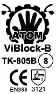 TK-805B ViBlock-B CE mark
