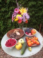 Quelques produits du jardin...