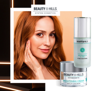 Beauty Hills, Kosmetik, Pigmentflecken, Altersflecken, UV-Licht, Sommersprossen, Melismen, feine Poren, grosse Poren, vitamin c, Antioxidantien, Kollagen, Anti-Aging, Falten
