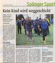 Bericht Solinger Tageblatt 10.03.2015