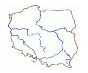 główne rzeki Polski