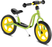 Bild: Laufrad Puky LR 1 Lime im fahrradverleih auf Rügen