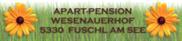 Logo Wesenauerhof Fuschl am See