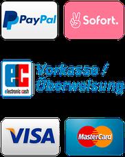 Kolloidales Silber Shop Zahlung mit Paypal, Sofort, Kreditkarte, Vorkasse