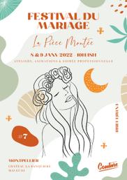 Festival du Mariage La Pièce Montée Montpellier 8 et 9 Janvier 2022