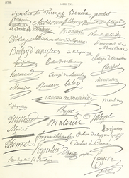 Das Stammbuch François-René de Chateaubriand