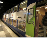 ③郊外電車‐RERは2階建て車両