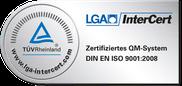 LGA InterCert Geprüftes Qualitätsmanagement
