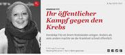 (Zeitschrift Gala (online) vom 8. April 2016)