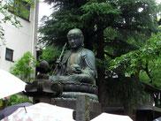 銅造地蔵菩薩像