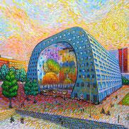 'Als Van Gogh', een project van kunstenaar Erika Stanley.