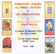 """formation de Patrice Chican à Tours - Les arbres valeurs..."""" - Via Energetica, bien-être en Touraine"""