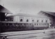 Güterexpeditionsbureau im Abbruch 1902