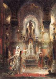 Salomé dansant devant Hérode - Gustave Moreau