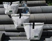 Rollbag, Hirsch, Rolltasche, Weihnachtstasche, Recyclingtasche, Airbag, Kosmetik