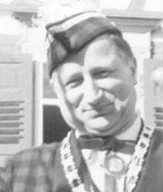 Zunftmeister Hans Linder beim ersten Ringtreffen 1968