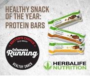 Proteinriegel - Gesunder Snack des Jahres 2018 von Women's Running.