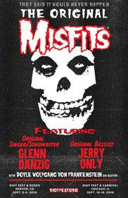 MISFITS-Riot Fest Plakat