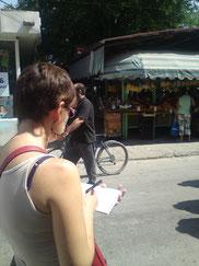 Croquis urbain Cathy Gimenez Bourg en Bresse (Ain)
