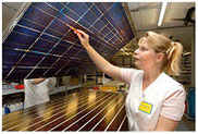 Total quality management SOLARA solar panels and production
