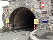 Vor dem Tunnel zum Hochtor