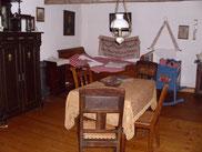 Wohn- und Schlafzimmer eines Dietzenbacher Bauern um die vorige Jahrhundertwende