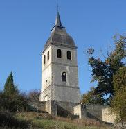Ladevèze-Ville, église Ste Marie-Madeleine